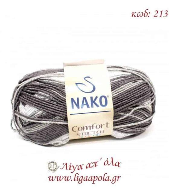Comfort Stretch Color - Nako - Λίγα απ' όλα - No 213 Λευκό γκρι εκρού