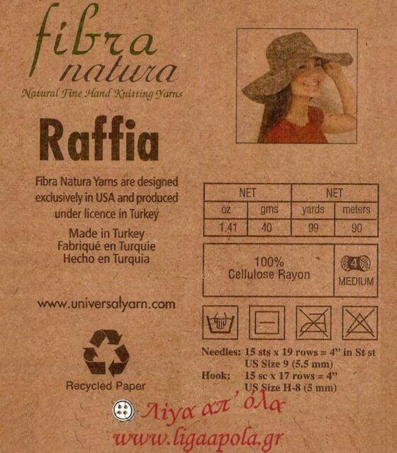 Fibra natura - Raffia