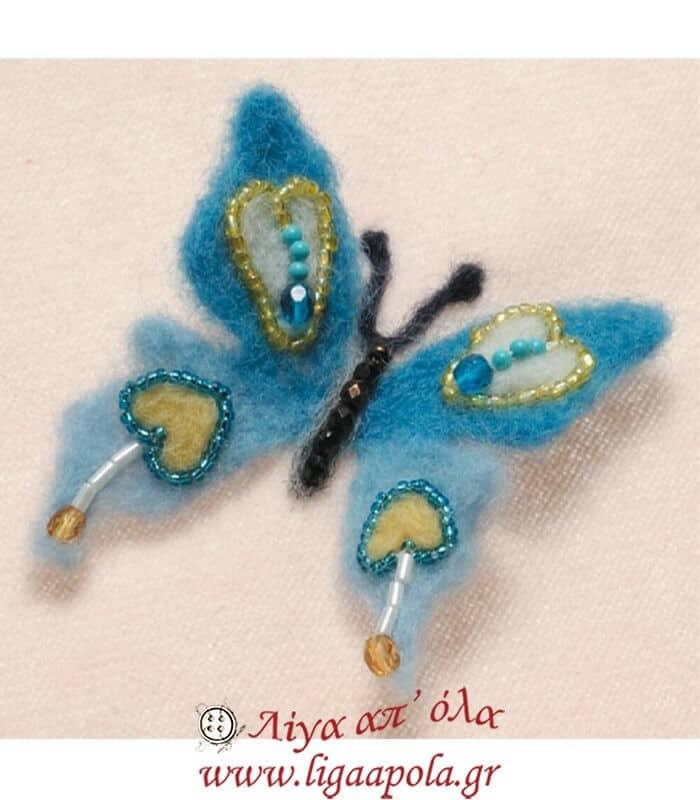 Καλούπι Felt Butterfly design No 8926