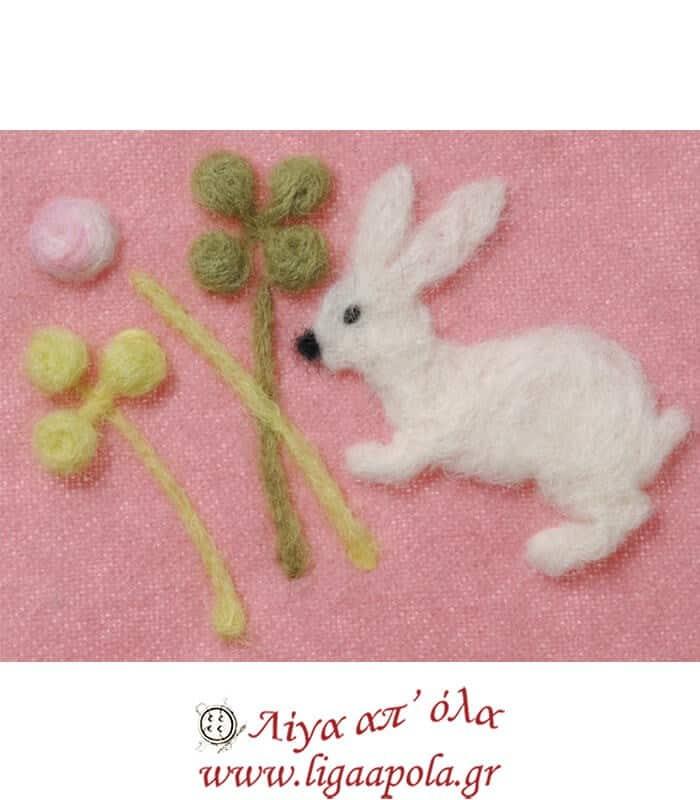 Καλούπι Felt Clover n Rabbit design No 8927