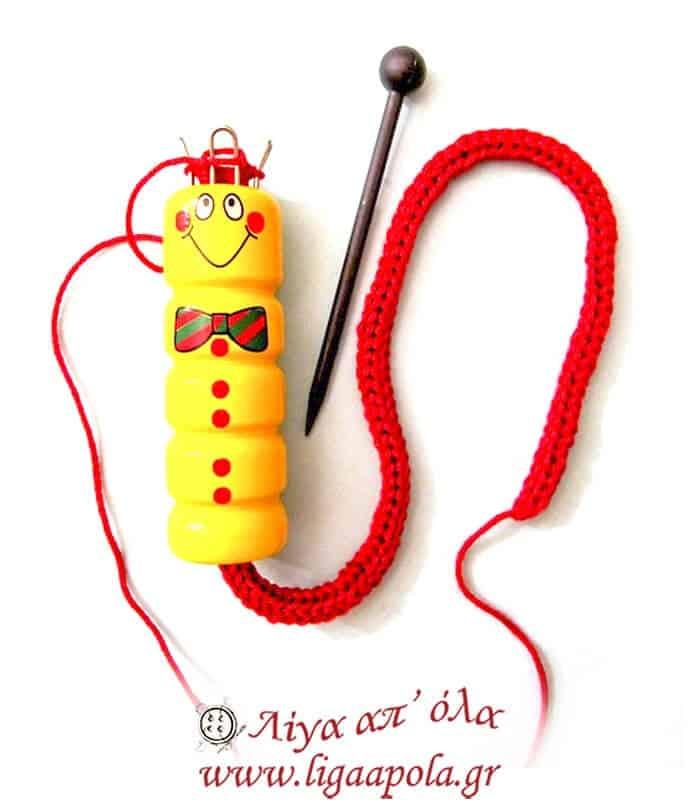 Μύλος για κορδόνι παιδικός ξύλο Prym 225 101