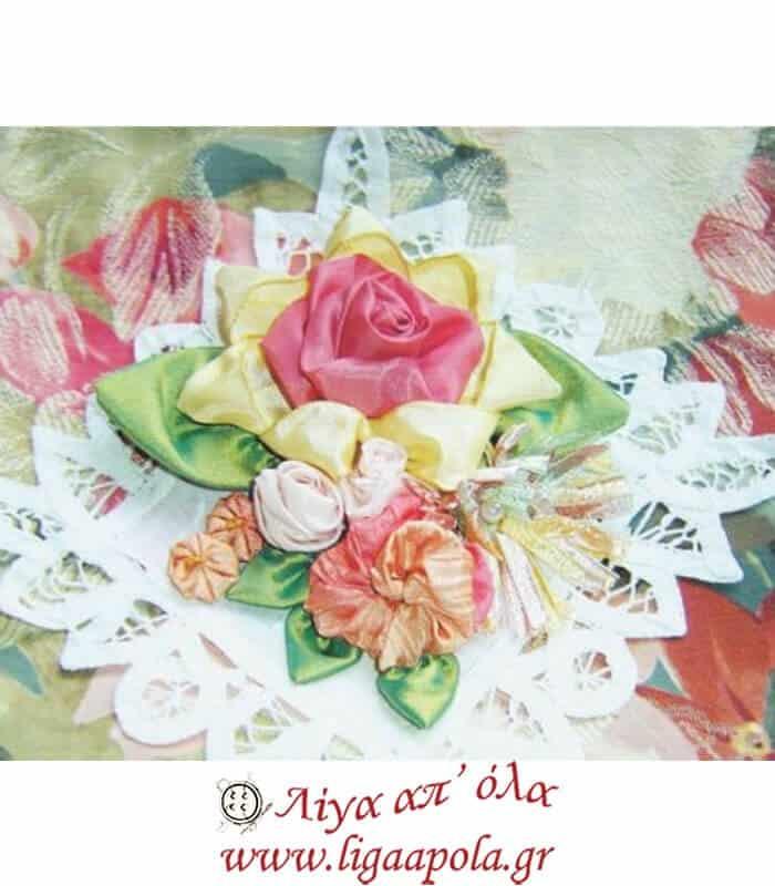 Πατρόν για τριαντάφυλλα μεγάλο Clover 8472