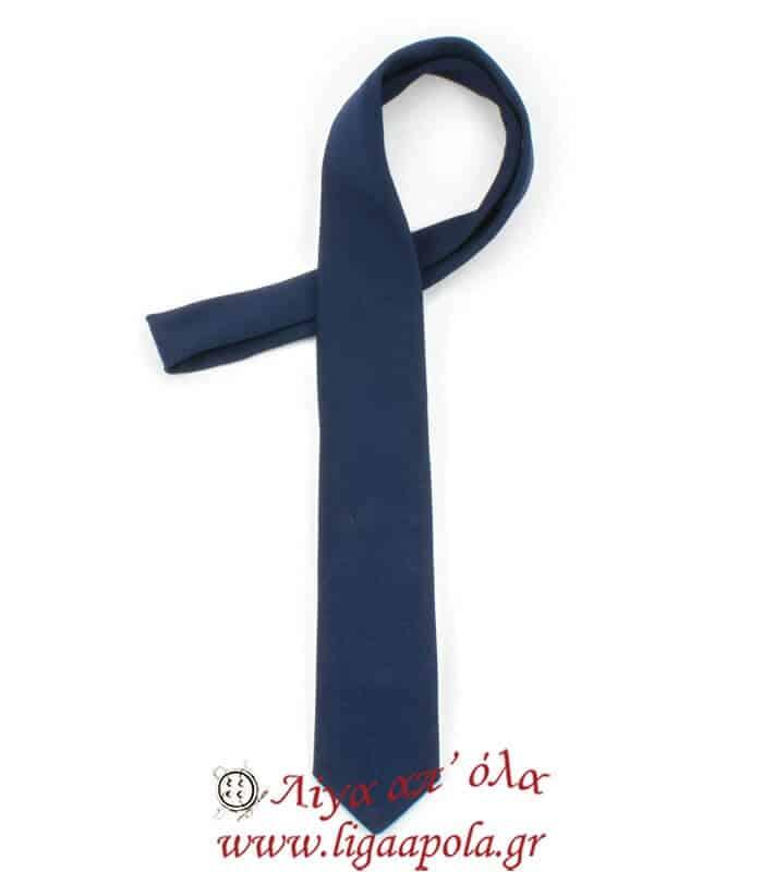 Γραβάτα εφηβική λεπτή παρέλασης 150cmx5