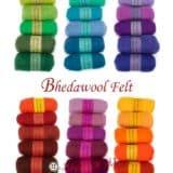 Μαλλί FELT Bhedawool συλλογή 5τεμ*25γρ