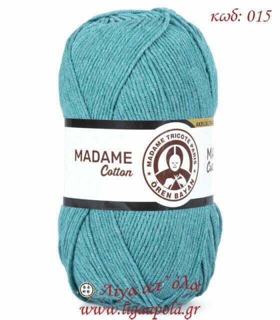 Βαμβακερό νήμα Madame Cotton - Madame Tricote Paris Λίγα απ' όλα - Πλέξιμο, Ράψιμο, Κέντημα