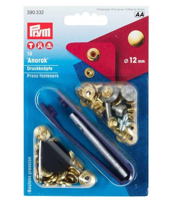 Πρεσαριστά τρουκ απλά 12mm Prym 390332