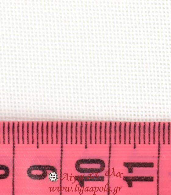 Ύφασμα εταμίν Μυκήναι Λευκό 1,8μ