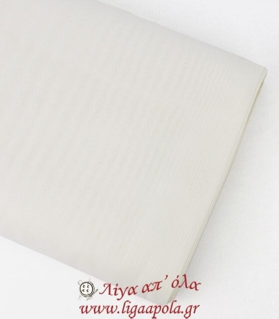 Ύφασμα εταμίν Ελβέτσια Λευκό 1,8μ