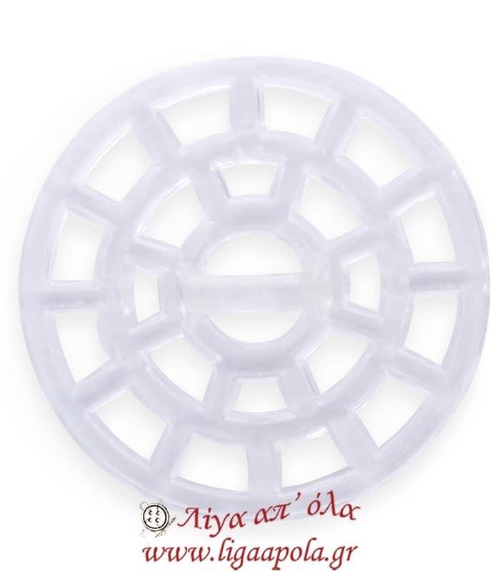 Πλαστική βάση για διακοσμητικά κουμπιά 36mm - Prym 312103