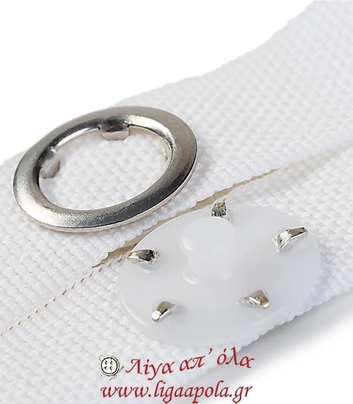 Πολυεστερικό κρεμασταράκι για πετσέτες με εύκολη σούστα - Prym 401205