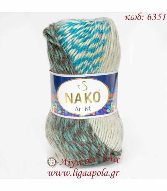 Σύμμικτο νήμα Artist - Nako