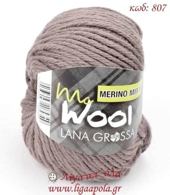 Σύμμικτο νήμα MC Wool Merino Mix 80 - Lana Grossa