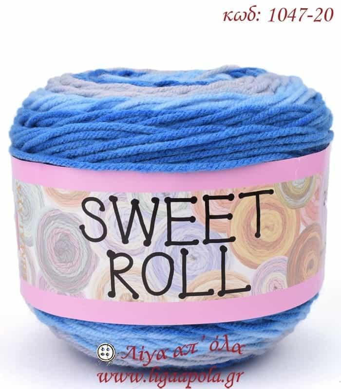 Ακρυλικό πολύχρωμο νήμα Sweet Rolls - Himalaya