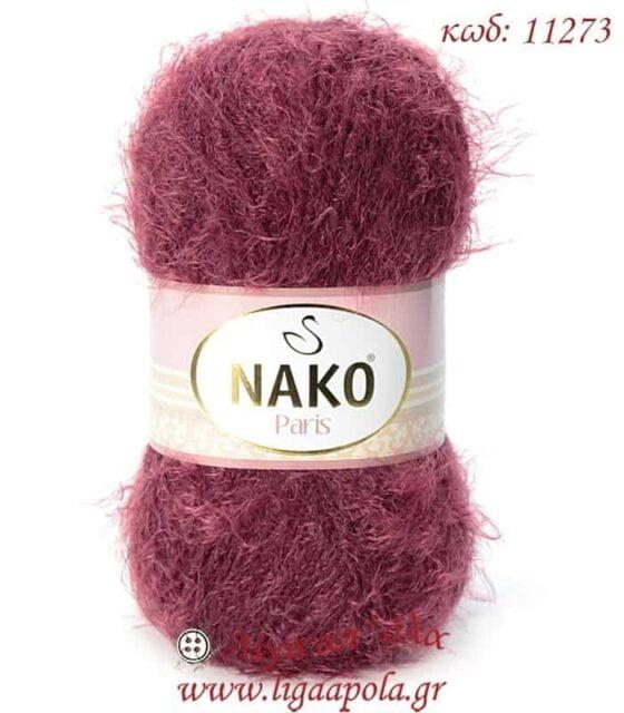 Ακρυλικό χνουδάτο λεπτό νήμα Paris - Nako