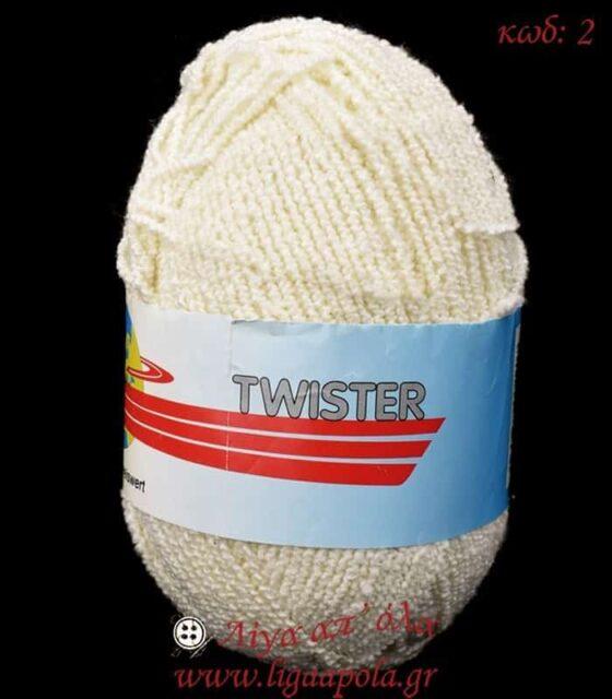 Καλοκαιρινό σύμμικτο ελαστικό μπουκλέ νήμα Twister