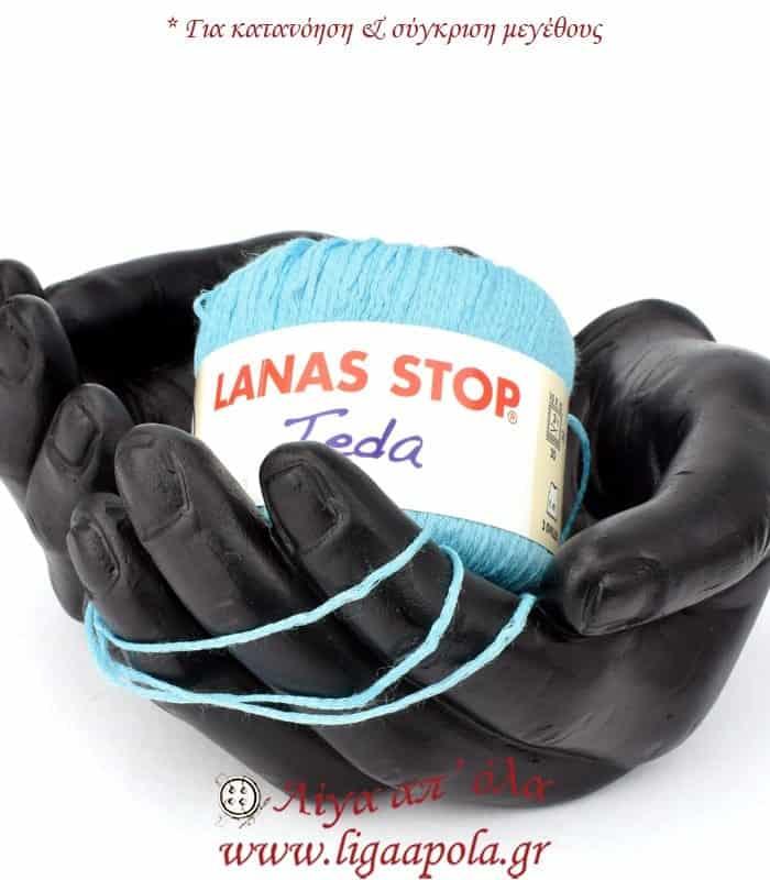 Καλοκαιρινό σύμμικτο λεπτό νήμα Teda - Lanas Stop