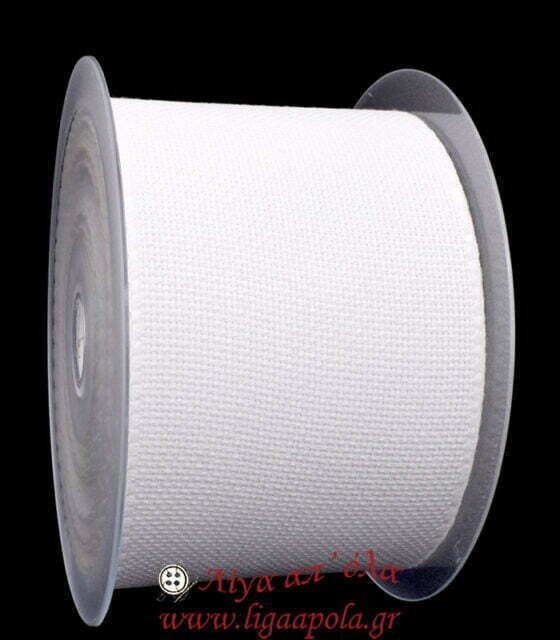 Βαμβακερή φάσα για κέντημα AIDA 10εκ Λευκό Λίγα απ' όλα - Πλέξιμο, Ράψιμο, Κέντημα