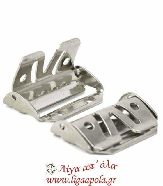 Μεταλλικός τοκάς ραφτός για ζωνάρι παντελονιού 3 εκ φάρδος 2 τμχ - Prym 416401 Λίγα απ' όλα - Πλέξιμο, Ράψιμο, Κέντημα