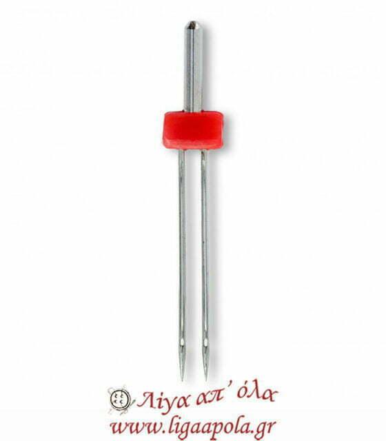 Βελόνα διπλή για ραπτομηχανή ελαστικά υφάσματα 130-705 75-4mm Prym 152911 Λίγα απ' όλα - Πλέξιμο, Ράψιμο, Κέντημα